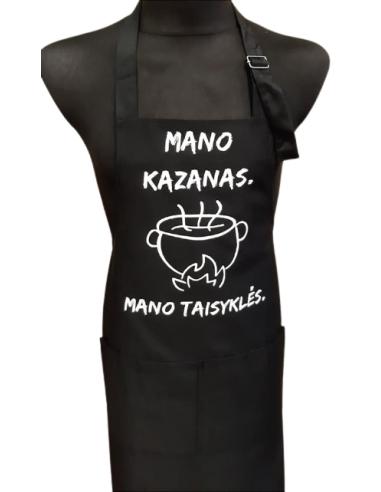 Prijuostė MANO KAZANAS, MANO TAISYKLĖS