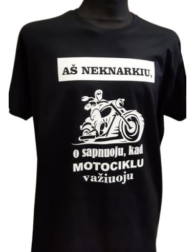 Marškinėliai AŠ NEKNARKIU